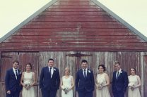 Sarah & Nick's bridal party