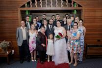My whole family - grandparents, partners, niece and nephews
